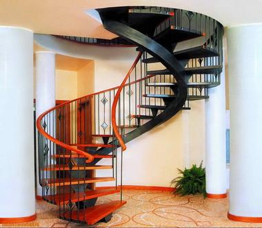 Крепление лестницы.